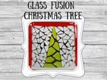 Glass Fusion Christmas Tree