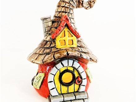 """ Gnome Home Lantern"" To-Go Kit- at Color Me Mine - Aspen"