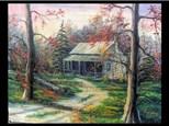 Oil Painting: Tennessee Homestead 11/13