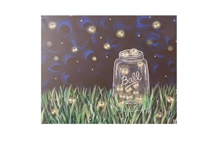 Catchin Fireflies Canvas and Cocktails