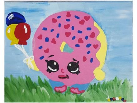 Shopkins Kids Canvas - 09/15
