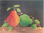 Canvas & Wine Night! Pears and Bittersweet! 11/2/18
