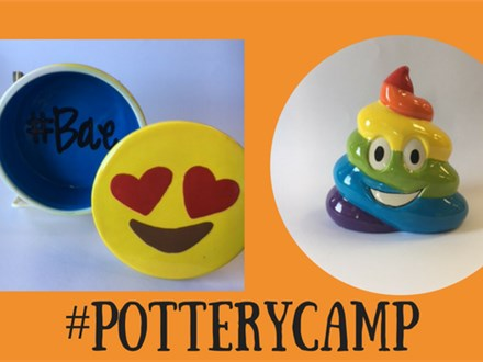 Doing Dishes Summer Camp - #Potterycamp