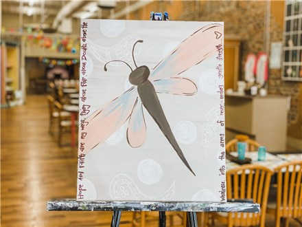 June 12th Dragonfly Canvas Class