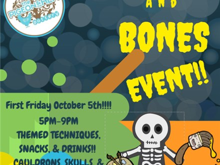 First Friday Bubbles and Bones!!!