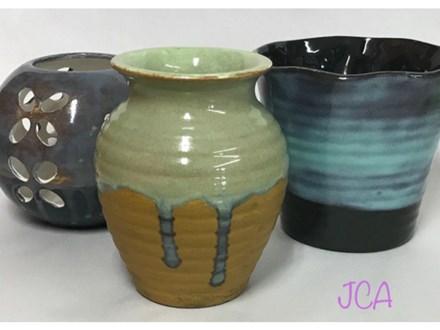 Friends, Feast, Masterpiece - Speciality Glaze Vase 07/29