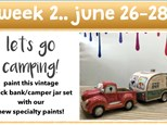 week 2 summer mini-camp - june 26-28