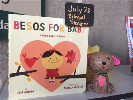 Pre-School Bilingual Story-time Besos For Baby