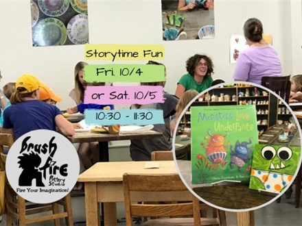 Mommy & Me Storytime 10/4 & 10/5