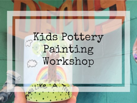 Kids Pottery Painting Workshop