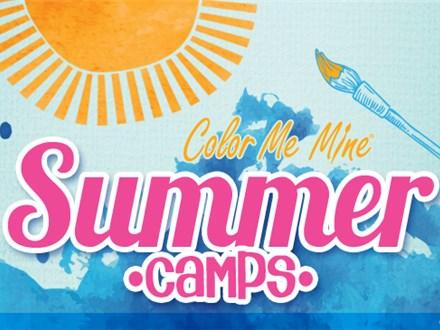 Camp at Color Me Mine - Week of June 11