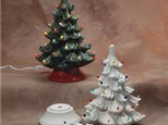 """November 1st """"PAINT YOUR OWN CERAMIC CHRISTMAS TREE""""!"""