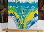 We're Making This!  Canvas Art with Acrylics