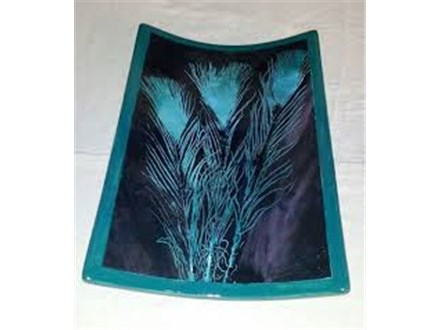 Pottery Class - Peacock Feathers
