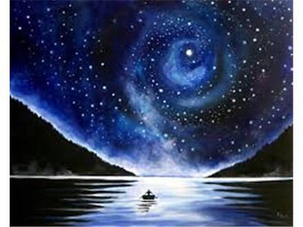 Twilight Canvas Painting  11pm - Until