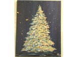 Christmas Tree Paint Class @ BODEGA BREW