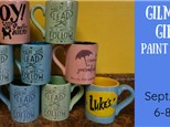 Gilmore Girls Paint Event