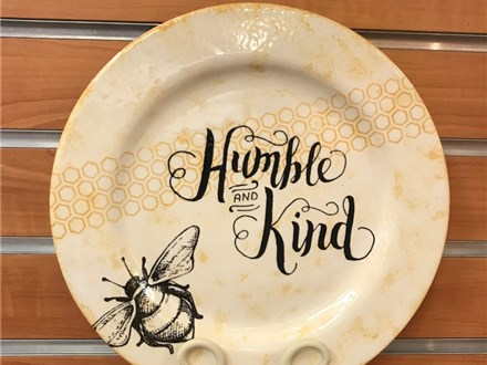 Milkshakes and Masterpieces, Bee Humble Plate!