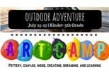 Outdoor Adventure Art Camp