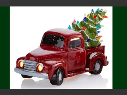 Christmas in July Light up Vintage Truck - July 16th
