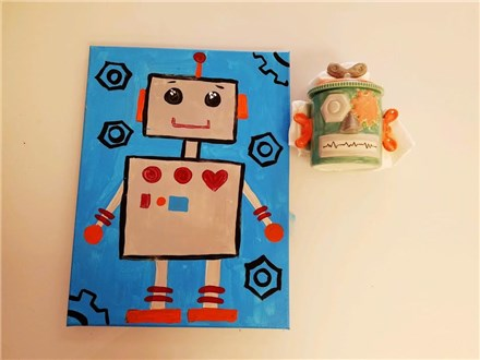2 Day Robot Camp (ages 6+)