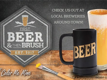 Beer and then Brush at Wicked Brewery!