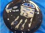 Kid's Pottery - R2D2 Plate - Morning Session - 05.02.18