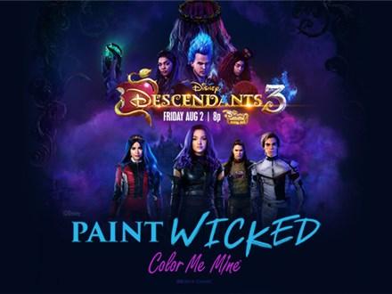 DESCENDANTS 3 - Rotten To The Core Plate! - AUG, 8TH 2019