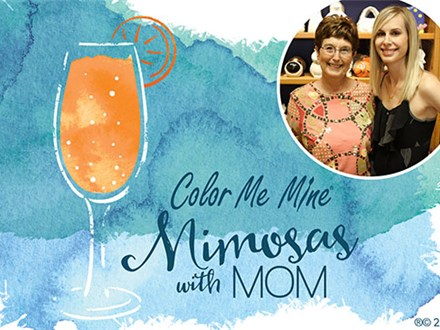 Mimosas with Mom on May 6, 2018