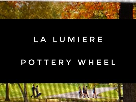 Pottery Wheel with La Lumiere