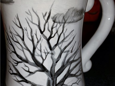 Ceramic Painting Class at Over the Moon Ceramic Studio