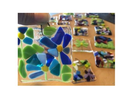 Fused Glass Sun-catcher Party