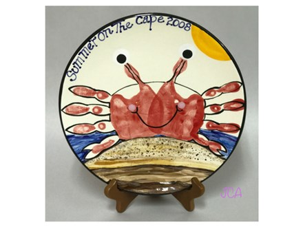 Mommy/Daddy & Me - Crab Handprint 07/11