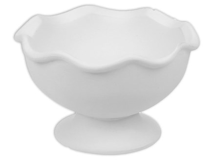 Pottery to Go-Sundae scoop bowl