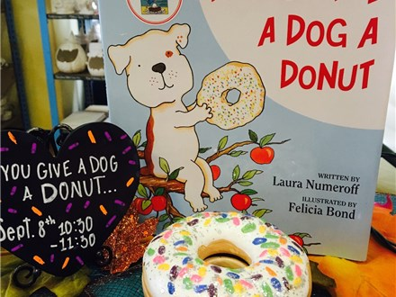 Pre-School Story Time Dog Donut