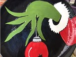 Grinch who Stole Christmas Pottery Class - December 1st
