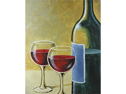 Paint N Party-Wine for Two