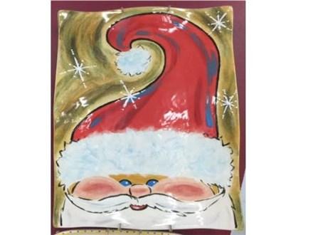 14x11 santa platter