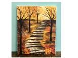 Autumn Path Paint Class