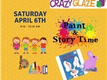 Ticket for Story Time-Apr 6th-It's Not Easy