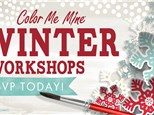 WINTER CAMPS (Dec 30;  Jan 2&3 from 9am-4pm)at Color Me Mine - Aspen