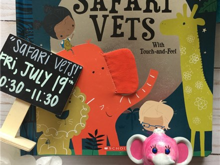 """Pre-School Storytime """"Safari Vets"""""""