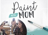 Paint with Mom, May 2, 2021 at Color Me Mine - Redondo Beach