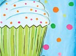 Delicious Cupcake Birthday Painting Party