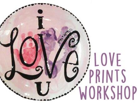 I Love U Prints Workshop - February 3