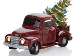 Vintage Truck with Tree-Nov. 23