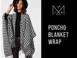 Poncho Blanket Wrap