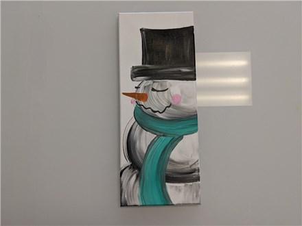 Rescheduled Dreamy Snowfellow Adult Canvas Class $35