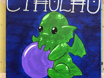 Kid's Canvas - Cthulhu - Morning Session - 10.17.18