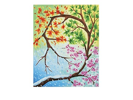 Changing Seasons - Canvas - Paint and Sip
